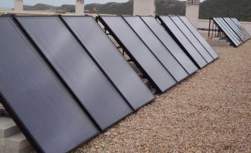 Instalación de paneles solares en A Coruña